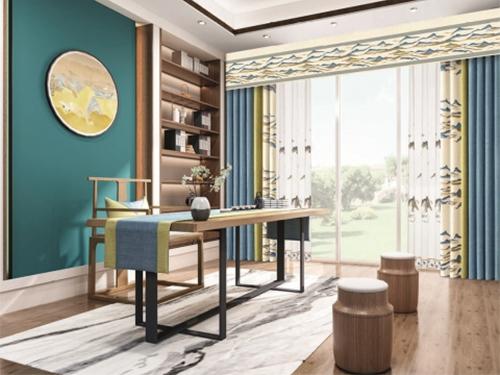 曼诗菲窗帘多种多样的风格为加盟商提升了商机