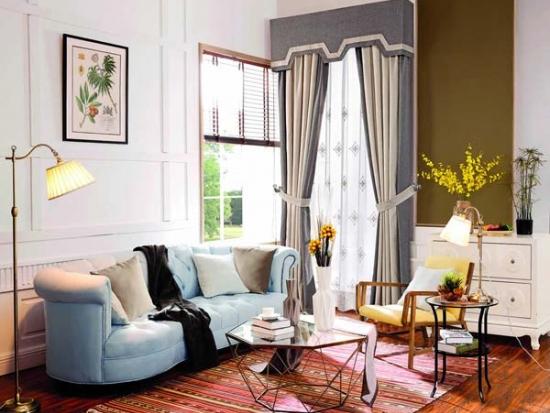 未来e家窗帘多样风格,总有一款打动你心弦