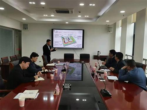 红星美凯龙、华润集团到 家纺园区 考察调研商贸核心区项目
