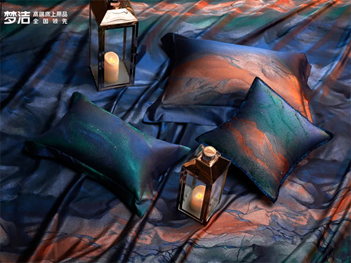 梦洁家纺:高端产品,打破舒适与艺术的边界