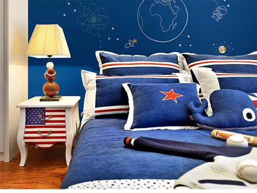 摩登野兽墙布丨为儿童房提供健康安全的居室环境